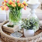 Spring Home Table Decorations Center Pieces 45