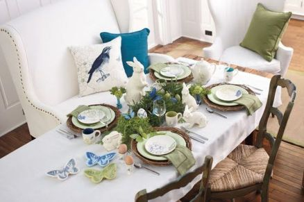 Spring Home Table Decorations Center Pieces 83