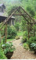 Stunning Creative DIY Garden Archway Design Ideas 20