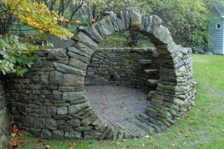 Stunning Creative DIY Garden Archway Design Ideas 35