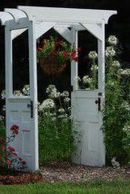 Stunning Creative DIY Garden Archway Design Ideas 4