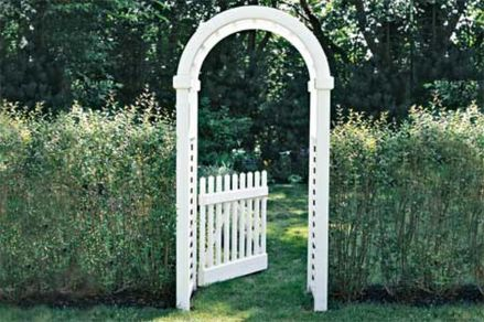 Stunning Creative DIY Garden Archway Design Ideas 43