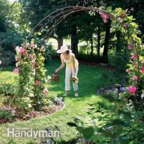 Stunning Creative DIY Garden Archway Design Ideas 48