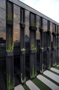 Stunning Glass Facade Building and Architecture Concept 41