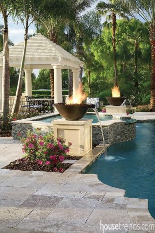 Stunning Outdoor Pool Landscaping Designs 26