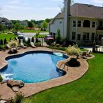 Stunning Outdoor Pool Landscaping Designs 28