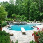 Stunning Outdoor Pool Landscaping Designs 46