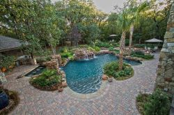 Stunning Outdoor Pool Landscaping Designs 66