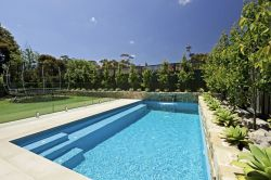 Stunning Outdoor Pool Landscaping Designs 68