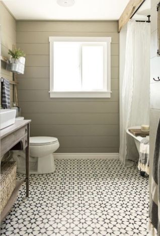 Vintage and Classic Bathroom Tile Design 18