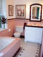 Vintage and Classic Bathroom Tile Design 2