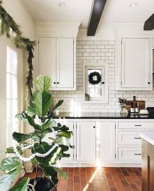 Amazing Brick Floor Kitchen Design Inspirations 25