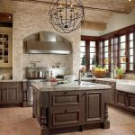 Amazing Brick Floor Kitchen Design Inspirations 31