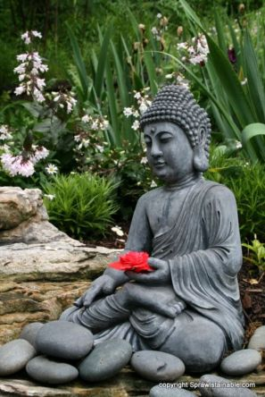 Awesome Buddha Statue for Garden Decorations 52
