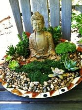 Awesome Buddha Statue for Garden Decorations 56