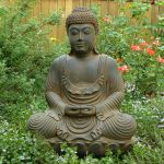 Awesome Buddha Statue for Garden Decorations 85