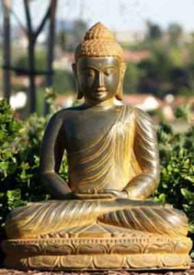 Awesome Buddha Statue for Garden Decorations 91