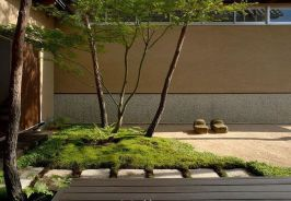 Modern and Contemporary Front Yard Landscaping Ideas 76
