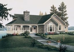 Wonderful European Cottage Exterior Design 5