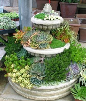 25 Simple Ideas to Make Cascading Garden Planter 19