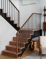 40 Awesome Modern Stairs Railing Design 13   Rockindeco