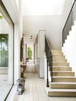 40 Awesome Modern Stairs Railing Design 20   Rockindeco