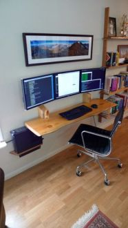 75 Most Favorite Home Workspace Inspirations Design 60