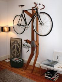 90 Brilliant Ideas to Make Hanging Bike Storage 16