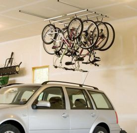90 Brilliant Ideas to Make Hanging Bike Storage 47