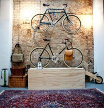 90 Brilliant Ideas to Make Hanging Bike Storage 7