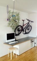 90 Brilliant Ideas to Make Hanging Bike Storage 8