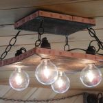 Breathtaking Rustic Ceiling Light Design 11