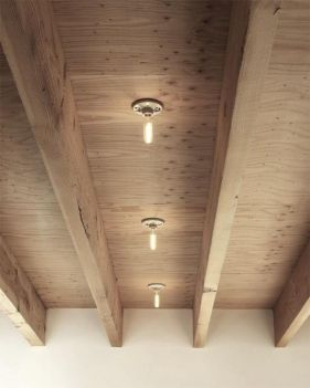 Breathtaking Rustic Ceiling Light Design 26