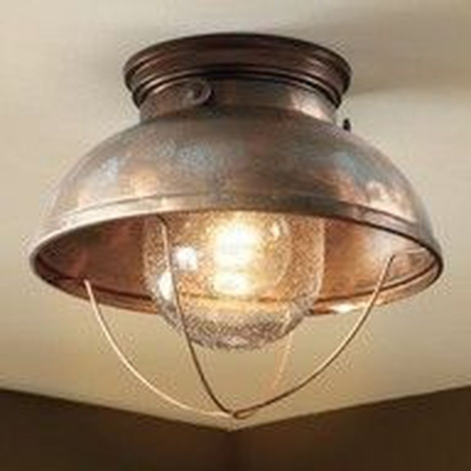 Breathtaking Rustic Ceiling Light Design 2