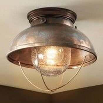 Breathtaking Rustic Ceiling Light Design 27