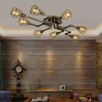 Breathtaking Rustic Ceiling Light Design 29