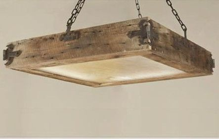 Breathtaking Rustic Ceiling Light Design 34