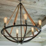 Breathtaking Rustic Ceiling Light Design 41