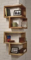 Corner Wall Shelves Design Ideas for Living Room 4