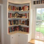 Corner Wall Shelves Design Ideas for Living Room 40