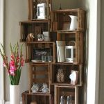 Corner Wall Shelves Design Ideas for Living Room 47
