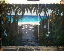 Stunning Creative Fence Ideas for Your Home Yard 25