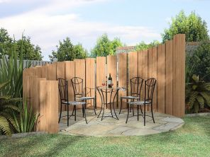 Stunning Creative Fence Ideas for Your Home Yard 36
