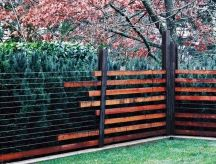Stunning Creative Fence Ideas for Your Home Yard 48