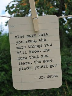 Dr. Seuess quote