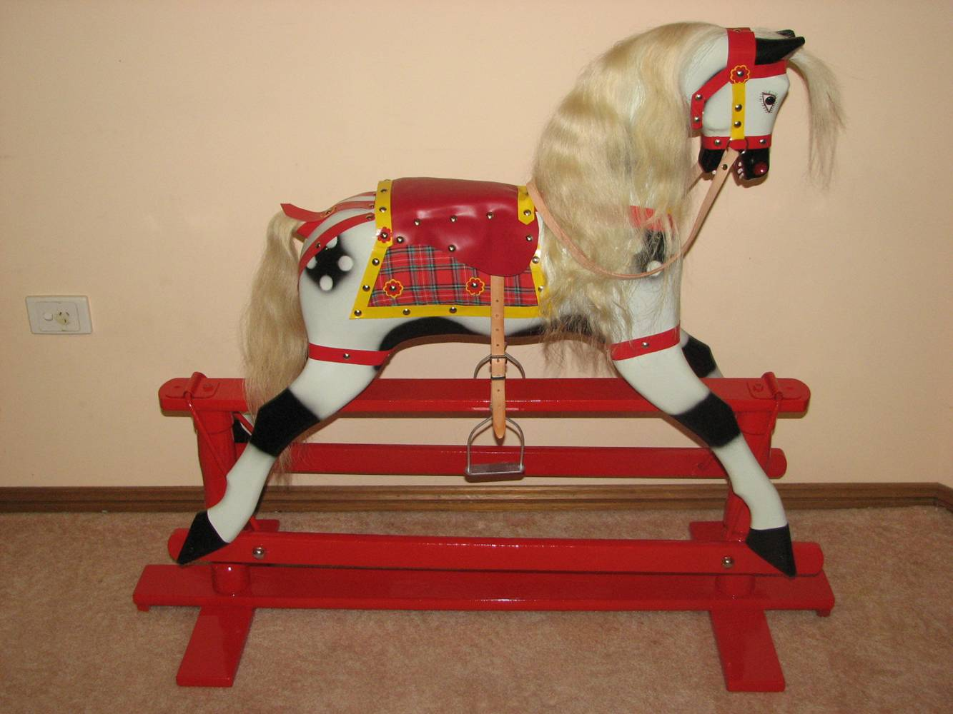 diy rocking chair kit stool for vanity f roebuck horse shed