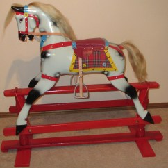 Diy Rocking Chair Kit Accent Desk How To Restore Horse Wooden Pdf Stone Bench