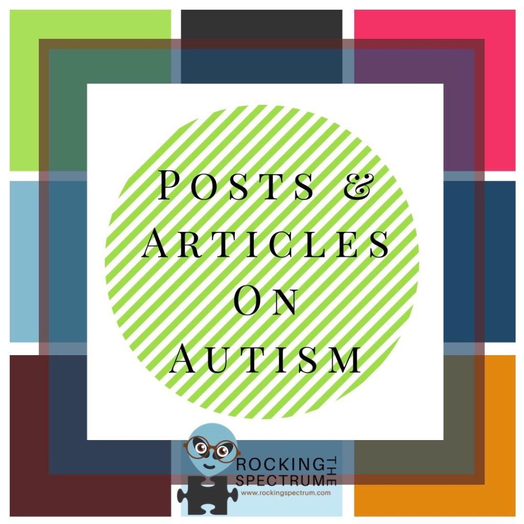 Autism post and article