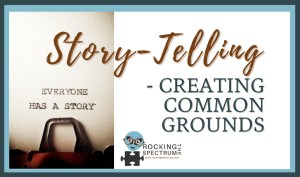 story-telling - creating common grounds