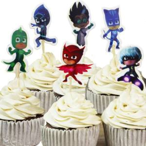 PJ Masks Cupcake Toppers (Pack of 24)